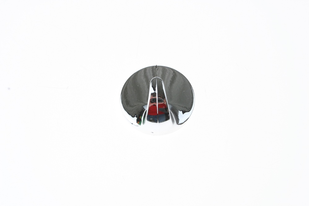 háček kulatý pokovený Ø 2,9 cm