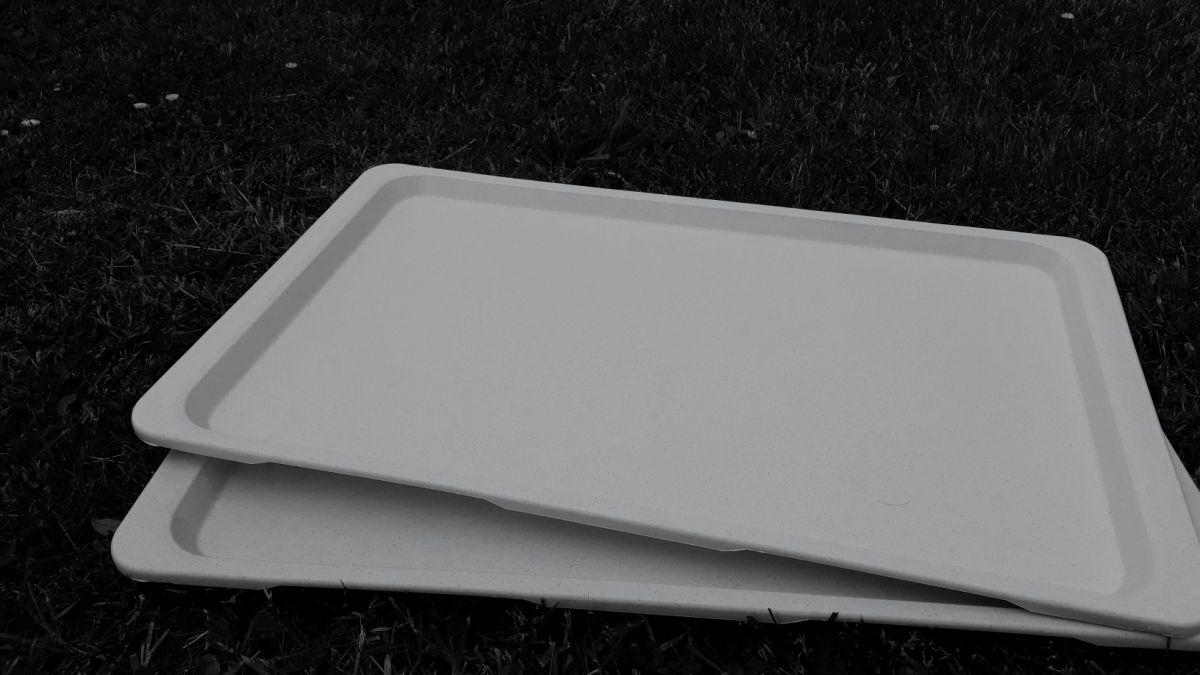 podnos jídelní GN 1/1 53 x 32,5 cm PP lux